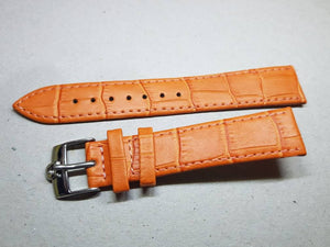18mm genuine leather strap for 18mm omega watches stainless steel buckle omega watch( FAST SHIPPING ) on sale