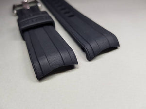 omega bracelet strap 22mm rubber strap for omega Seamaster speedmaster james bond 007 planet ocean professional watches strap bracelet band