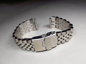22mm seiko bracelet watch stainless steel gents watch strap band model srp773, srp775, srp777, srp779 on sale