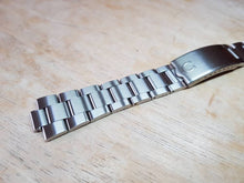 Load image into Gallery viewer, vintage 10mm omega seamaster cosmic de ville dynamic geneve stainless steel bracelet band strap on sale on  on sale