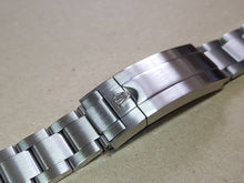 Load image into Gallery viewer, 20mm Rolex watch silver brushed finish oyester High Quality 316L Folded Link Replacement Bracelet For Rolex watches FAST SHIPPING on sale