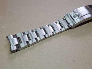 20mm Rolex watch silver brushed finish oyester High Quality 316L Folded Link Replacement Bracelet For Rolex watches FAST SHIPPING on sale
