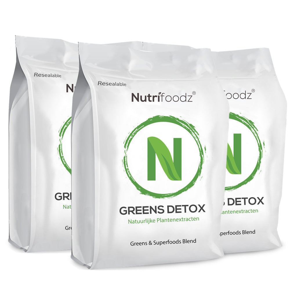 GREENS DETOX 3 pack (15% korting)