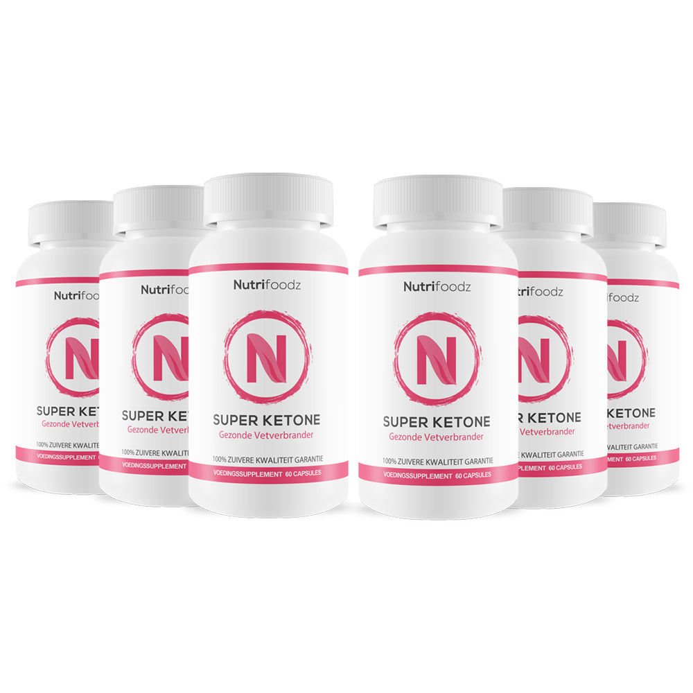 SUPER KETONE 6 pack (20% korting)