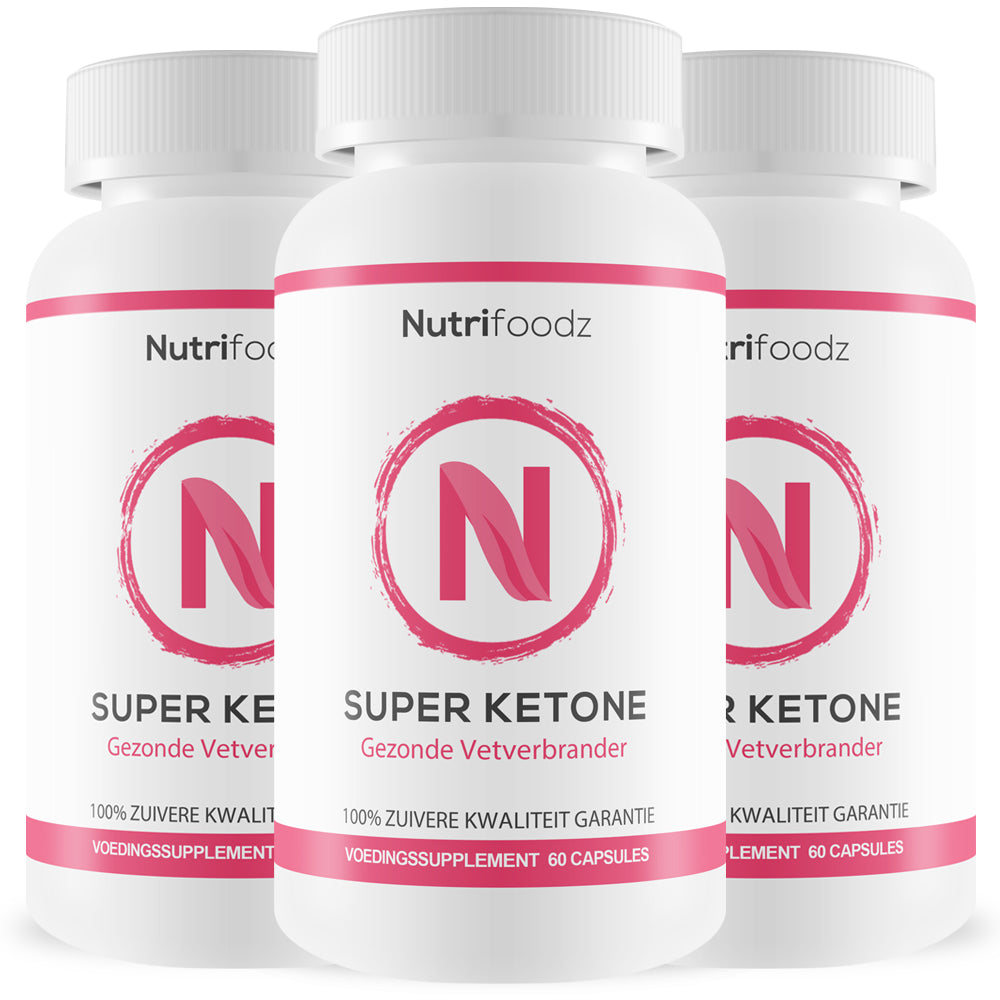 SUPER KETONE 3 pack (15% korting)