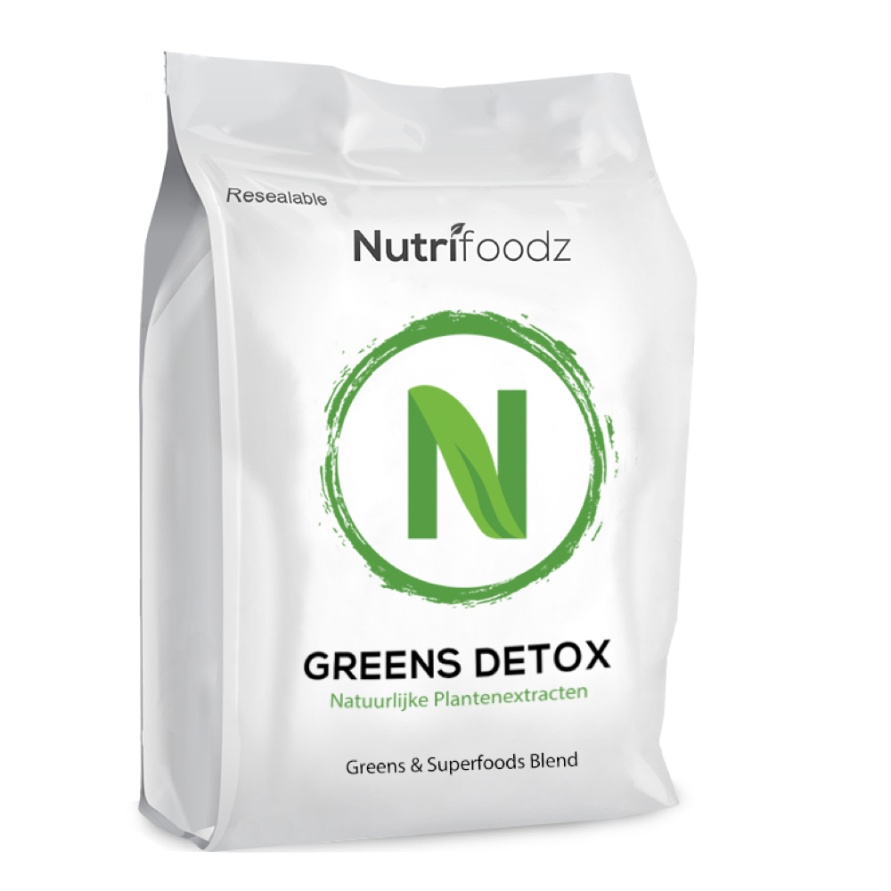GREENS DETOX  6 pack (20% korting) nutrition