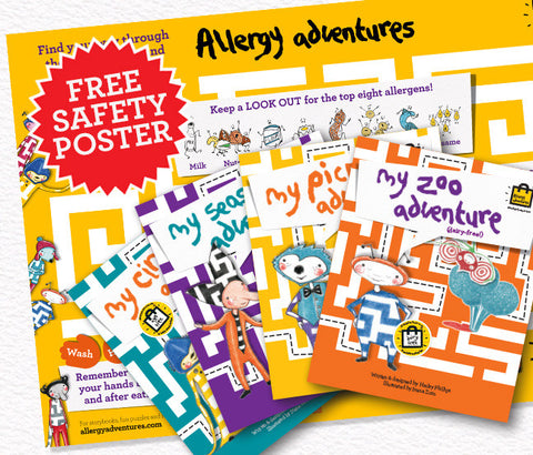 Allergy pack for schools and nurseries