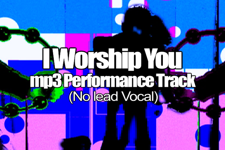 I WORSHIP YOU mp3 Track (No Lead Vocal)