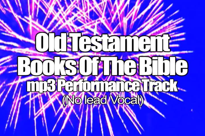 Old Testament Books of the Bible mp3 Track (No Lead Vocal)