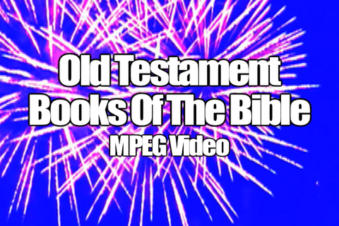 Old Testament Books of the Bible MPEG Video