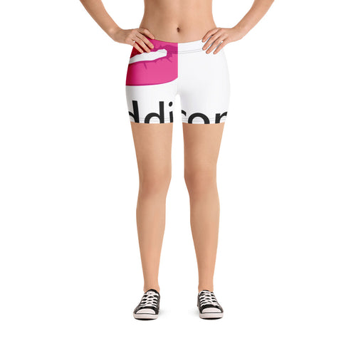Krazyeddie Lips Cycling Shorts