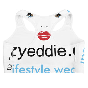 Krazyeddie Face Sports Bra