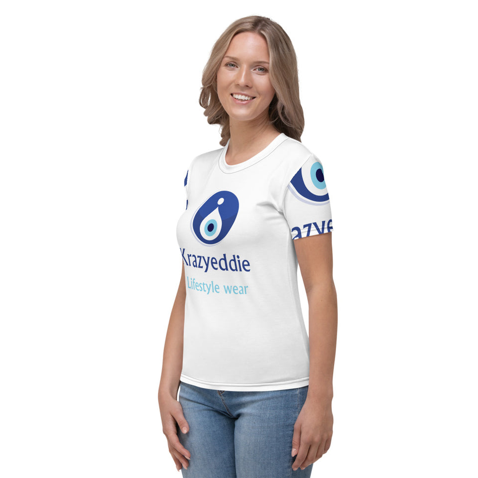 Krazyeddie Evil Eye Women's T-shirt