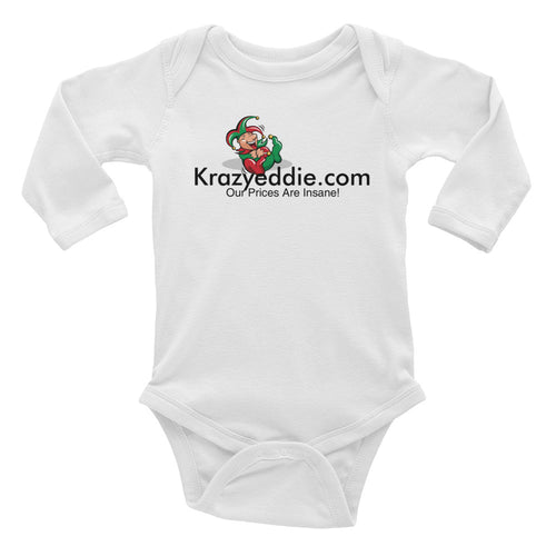 Krazyeddie Infant Long Sleeve Bodysuit