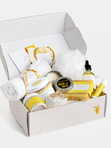 Care Package, Handmade Natural Bath & Body Gift Box, Thank You Gift
