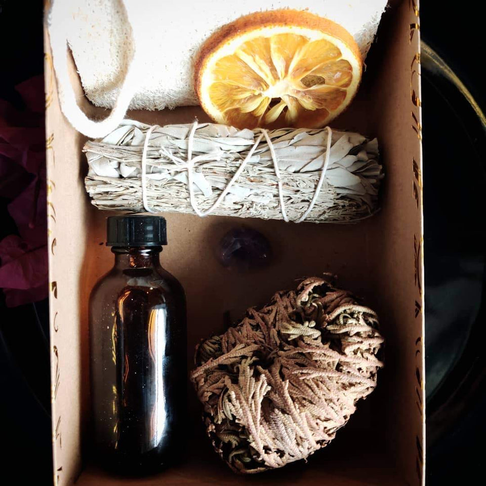 SACRED HERB DOOR WASH + HOME BLESSINGS COLLECTION