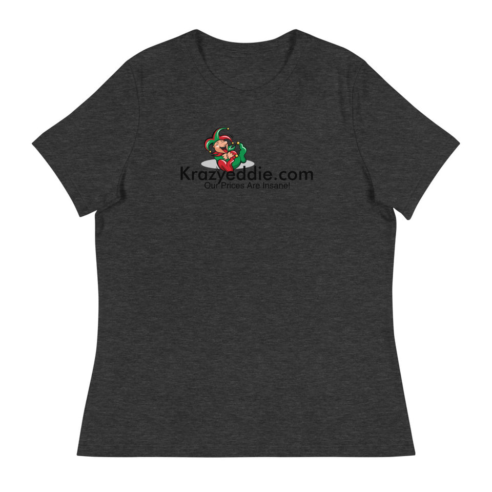 Krazyeddie Women's Relaxed T-Shirt