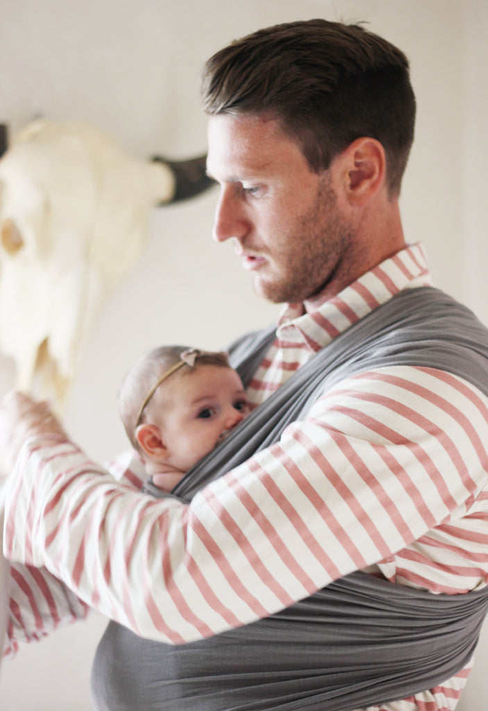 5 Ways To Wear A Wrap Like A Man Solly Baby Wrap Carrier Infant