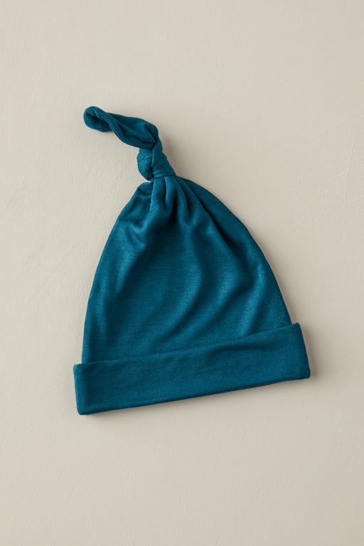 KNOTTED HAT - Blue Teal