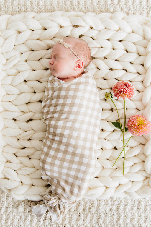 SWADDLE - Creamy Gingham