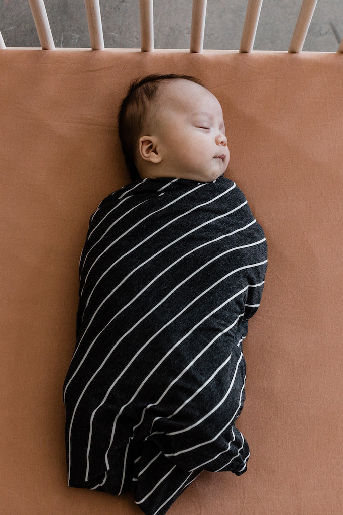 SWADDLE - Charcoal Stripe