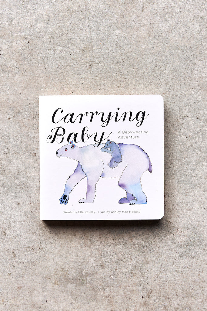 Carrying Baby Board Book
