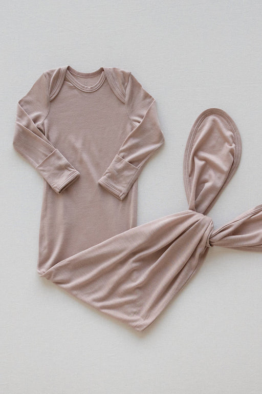 SLEEP GOWN - Dusty Pink