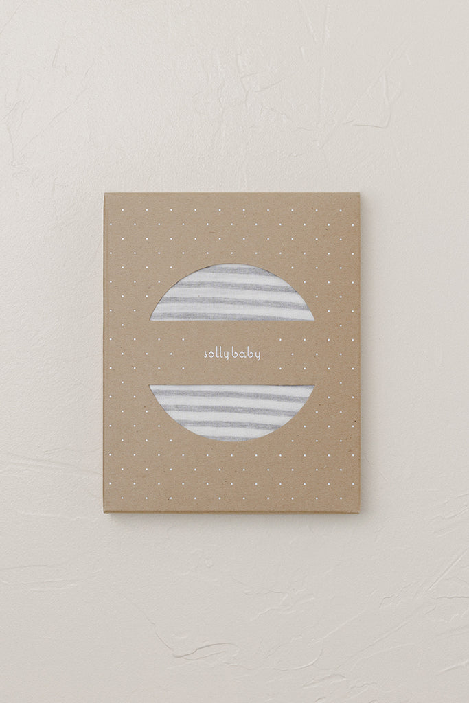 SOLLY DOLLY - Natural & Grey Stripe