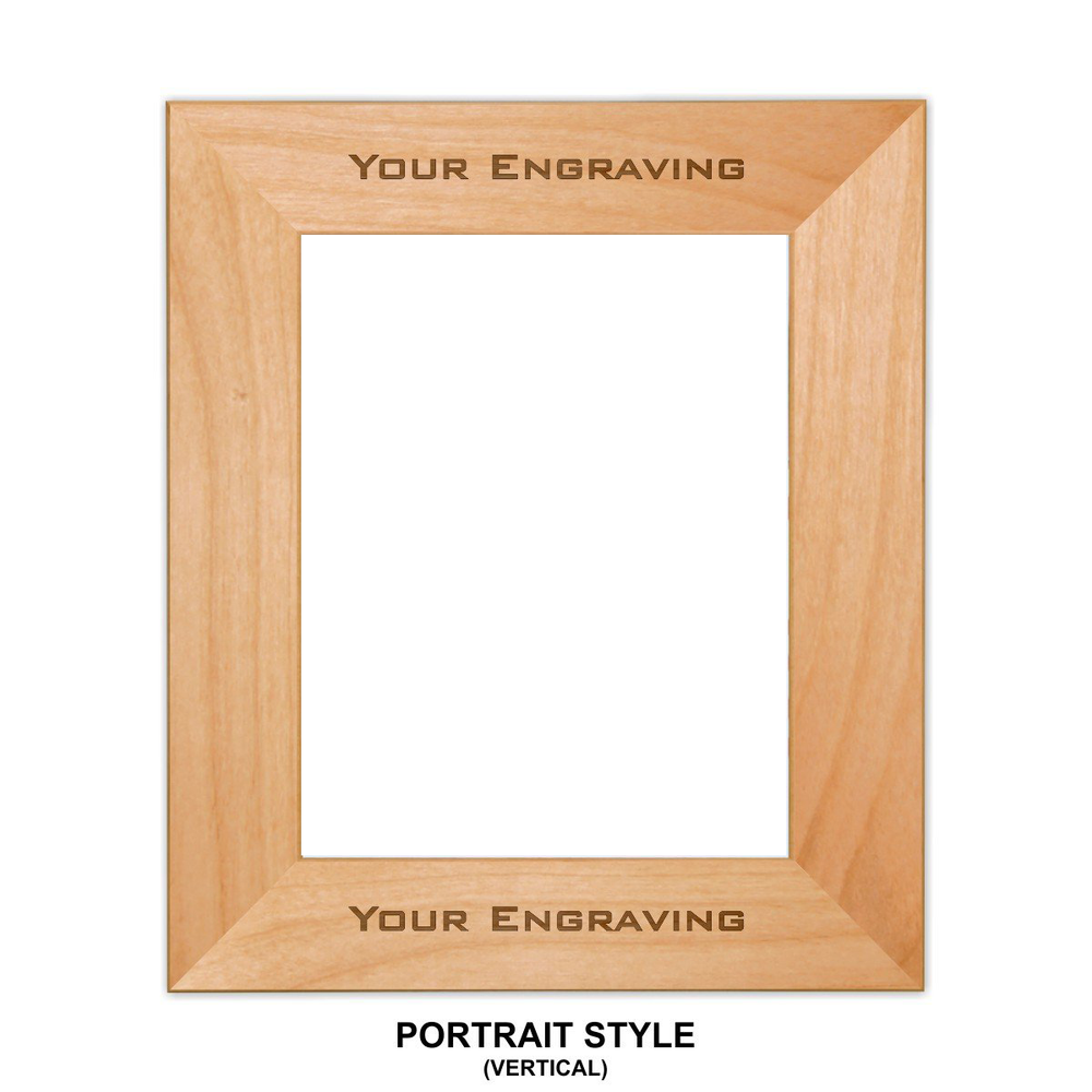 Customizable Wooden Picture Frames