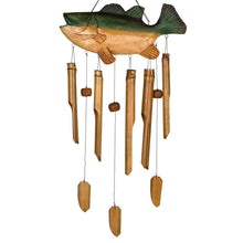 Load image into Gallery viewer, Animal Bamboo Chime, Bass Fish