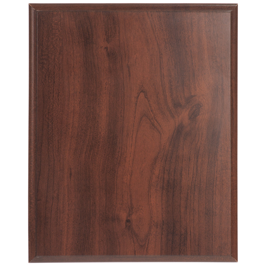Cherry Finish Plaque