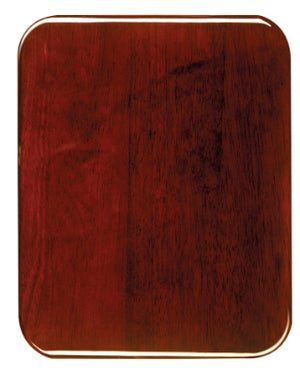 Load image into Gallery viewer, Rosewood Piano Finish Plaque, Round Corners
