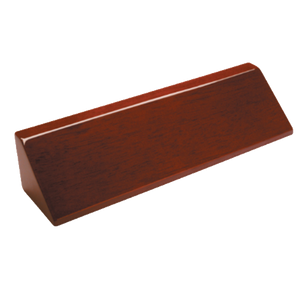 Customizable Rosewood Piano Finish Desk Wedge