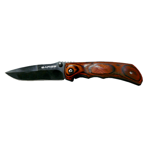Trigger Rosewood Folder Knife