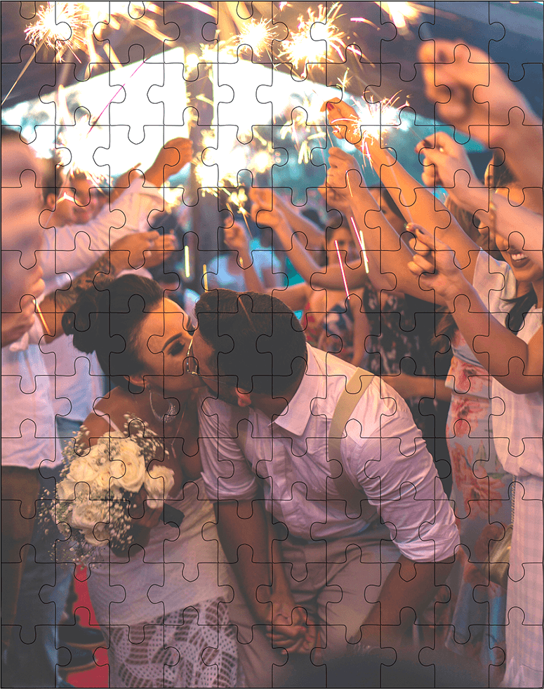 Personalized Jigsaw Puzzle - 110 Pieces