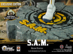 Cannon Busters - S.A.M. 1/6 Resin Statue (Exclusive Edition) Premium Line Animegami Studios