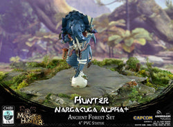 Monster Hunter - Hunter: Nargacuga Alpha+ (Exclusive Edition) Chibi Line Animegami Studios