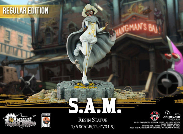Cannon Busters - S.A.M. 1/6 Resin Statue (Regular Edition) Premium Line Animegami Studios