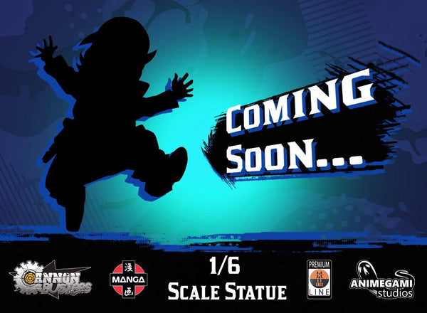 Cannon Busters - Casey 1/6 Resin Statue (Exclusive Edition) Premium Line Animegami Studios
