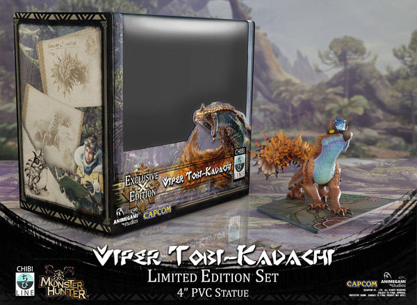 Monster Hunter - Viper Tobi-Kadachi (Limited Edition) Chibi Line Animegami Studios