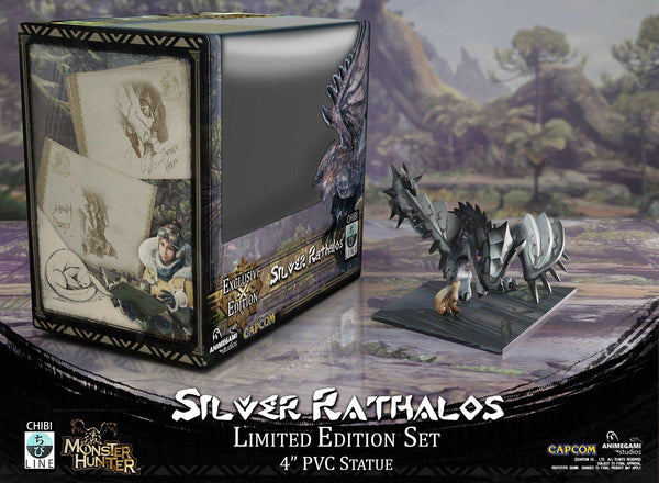 Monster Hunter - Silver Rathalos (Limited Edition) Chibi Line Animegami Studios