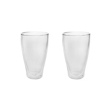 Load image into Gallery viewer, Set of 2 Double Wall Beer Glasses 16 Oz