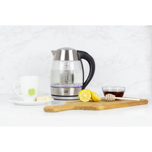 Digital Kettle with Tea Infuser
