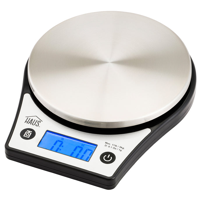 Black Digital Kitchen Scale
