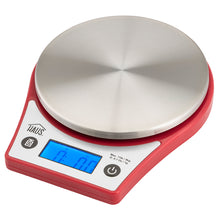 Load image into Gallery viewer, Red Digital Kitchen Scale