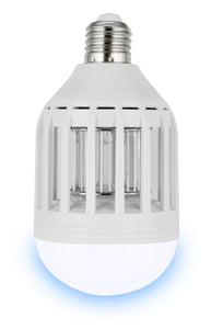 ZapBulb 2-in-1 Mosquito Zapper & LED Light Bulb 2-PACK