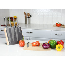 Load image into Gallery viewer, Designer Original 5-Piece Stainless Steel Knife Set