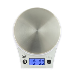 White Digital Kitchen Scale