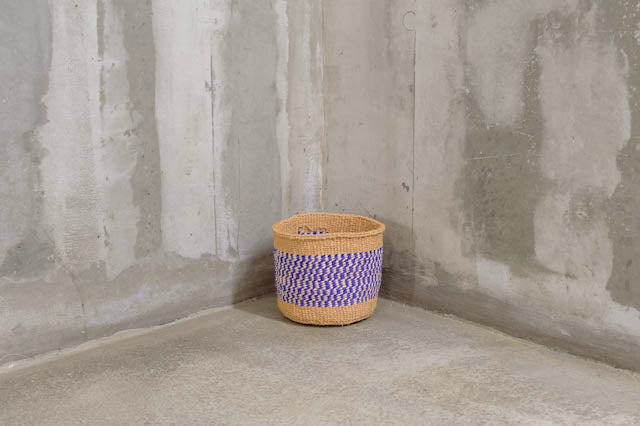 Unique collection purple Handmade Basket - Rima Shop