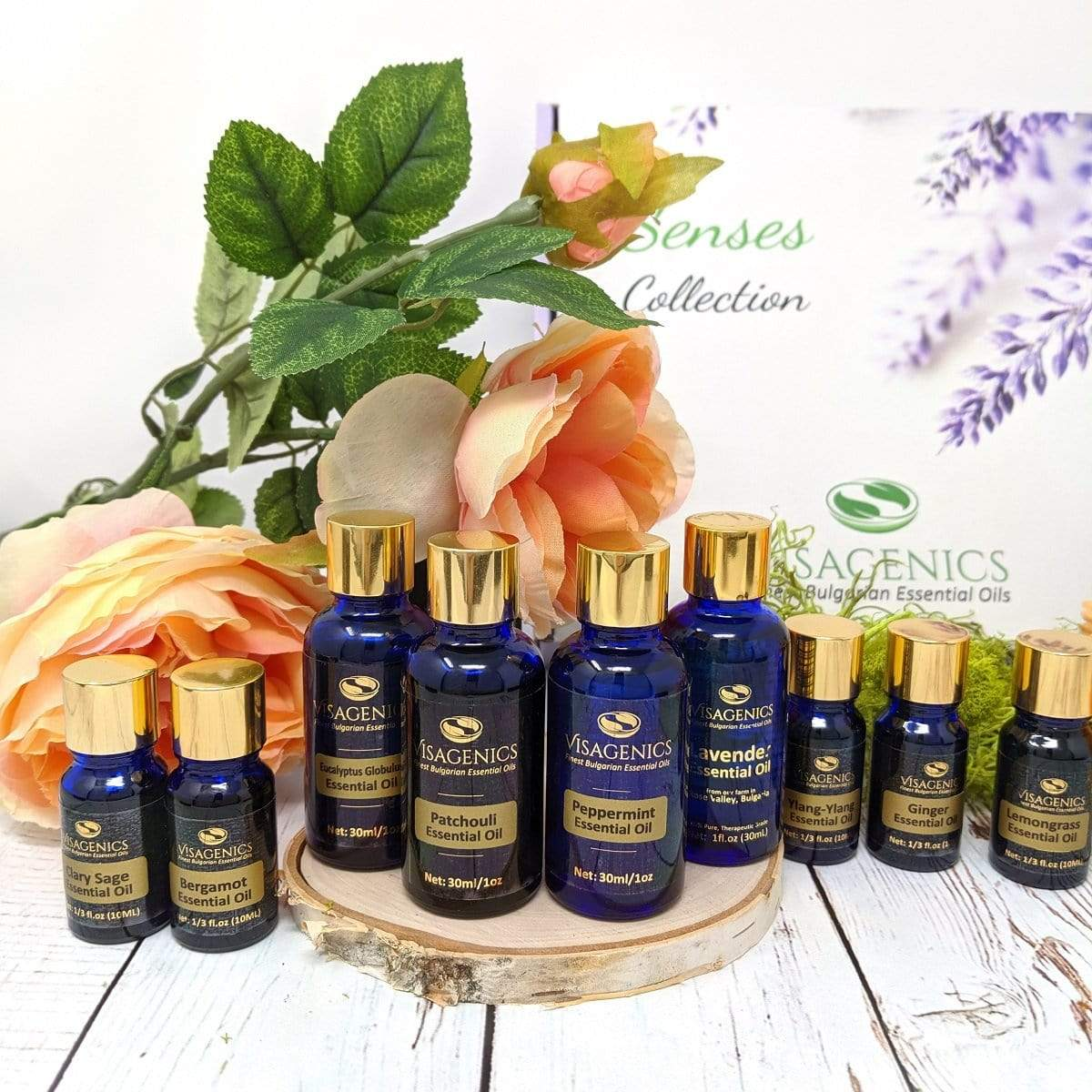 "NEW: Premium Essential Oils GIFT SET ""SENSES"" 